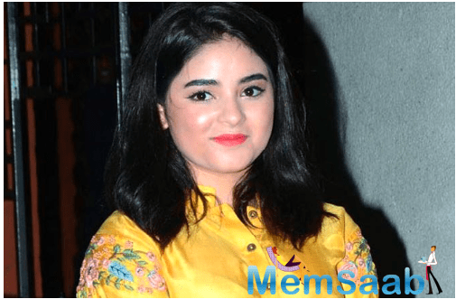 Now, clearing the air, Zaira wrote an open letter to Tarek Fatah and explained how 'this is wrath or a curse' statement made by her, during the time when the world is going through a lot. Here's what the letter read.