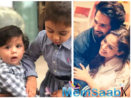 Mira and Shahid recently celebrated their fifth wedding anniversary.