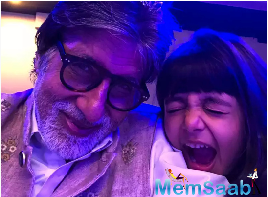 Recalling a candid moment between him and Aaradhya while watching his popular game show, BigB discovered what Aaradhya thinks is the real meaning of the nobel coronavirus.