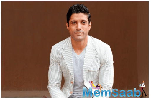 Since the past several months, Farhan Akhtar has been helping a homeless man build a roof over his head.