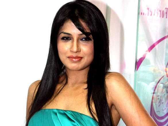 Aarti Puri sleeveless dress glamour still