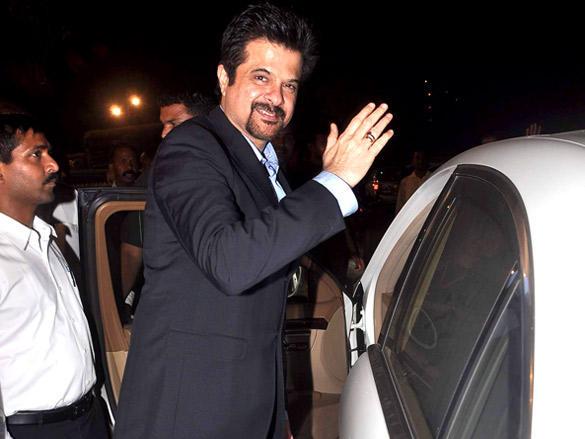 Anil Kapoor snapped at Rakesh Jhunjhunwalas 25th wedding anniversary