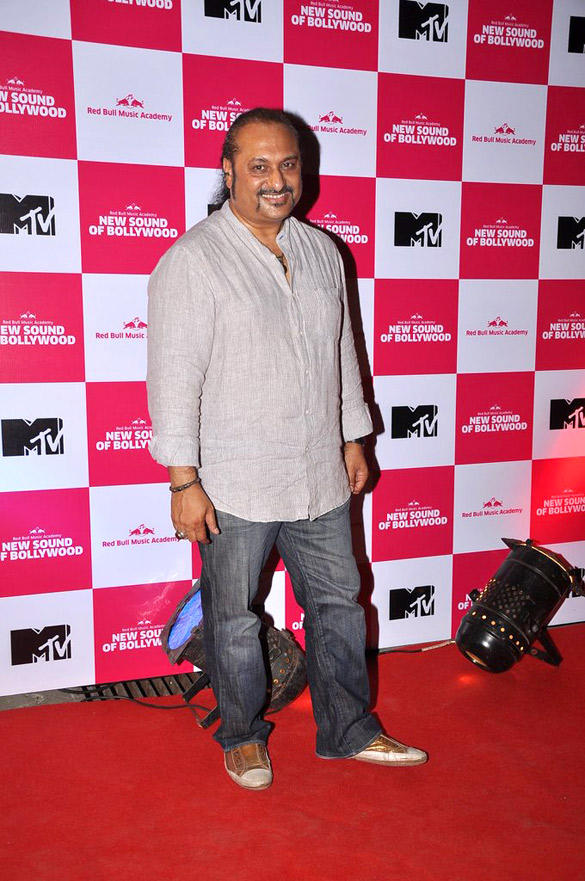 Celebs on Red Carpet at Red Bull Music Academy Event