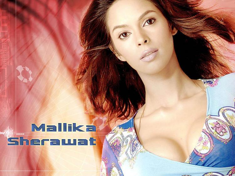 Hot Beauty Mallika Sherawat Wallpaper