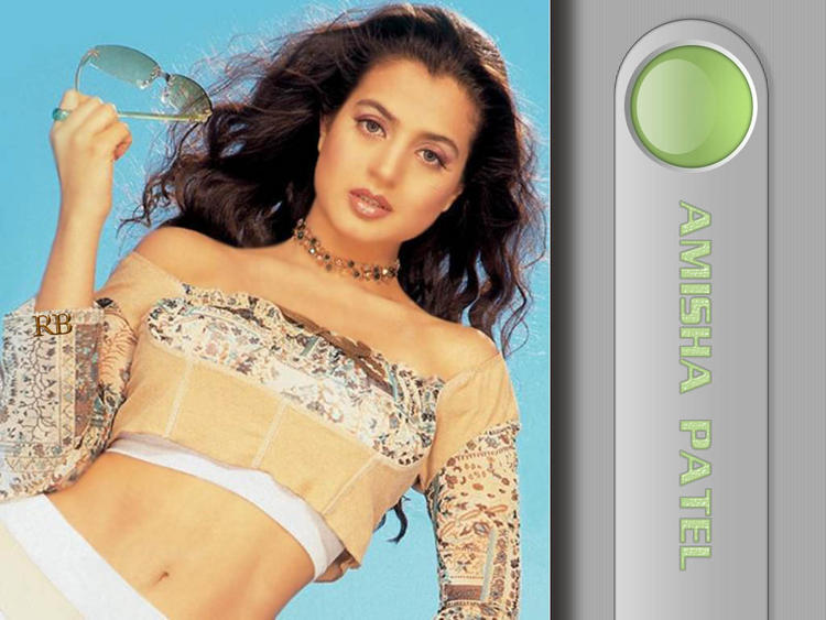 Hot Bollywood Diva Amisha Patel Wallpaper