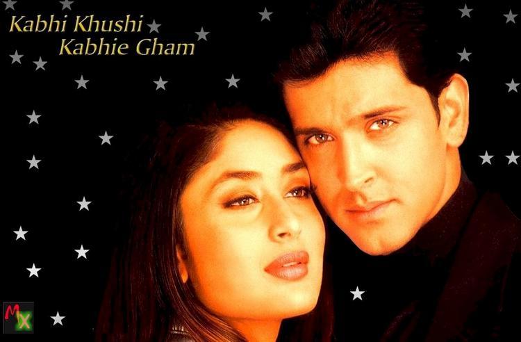 Hrithik and Kareena kabhi Khushi Kabhi Gham Wallpaper