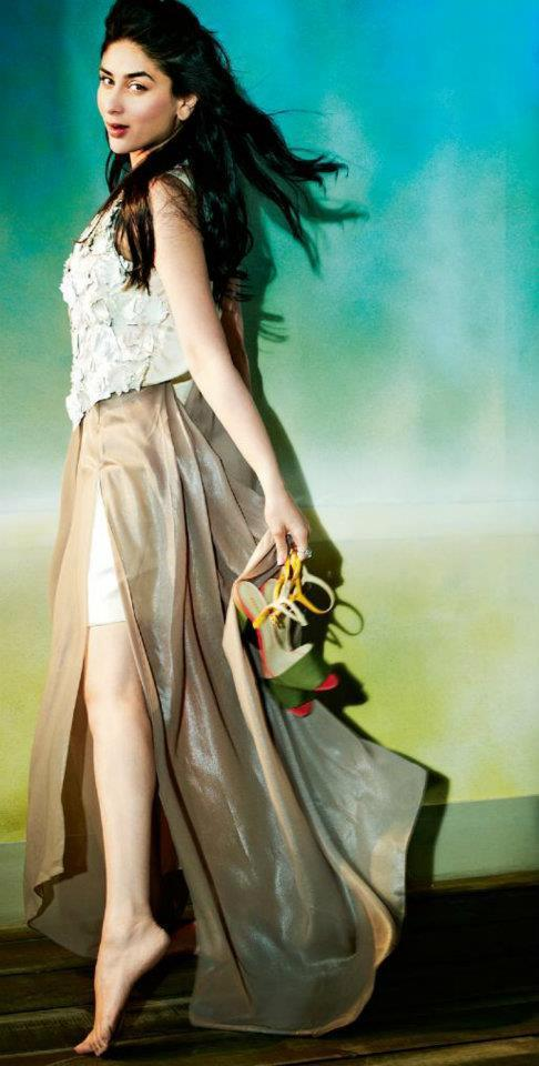 Kareena Kapoor on the Cover of Filmfare April 2012