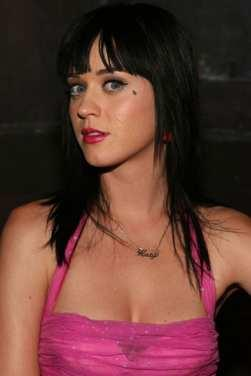 Katy Perry Pink Dress Side face Glamour Still