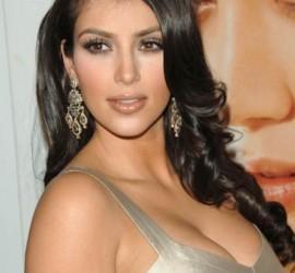 Kim Kardashian Open Boob Sexy Face Still