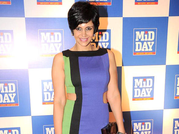 Mandira Bedi at Launch of Mid-Day Mumbai Anthem