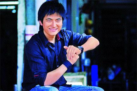 Meiyang Chang Blue Shirt Still