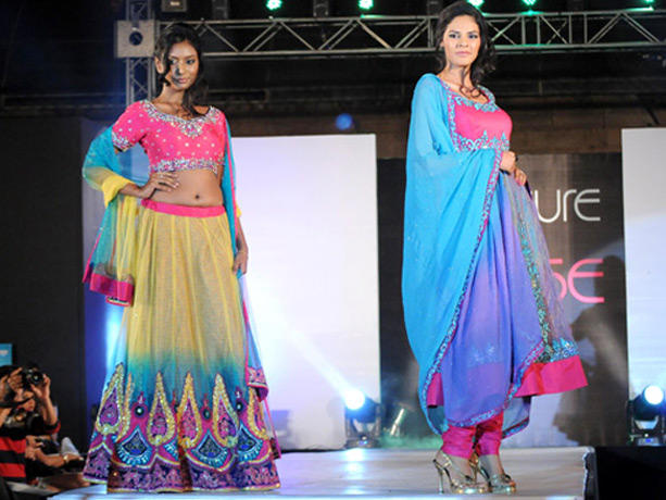 Model Walk Ramp at Couture for Cause Fashion Show in ITC Maratha