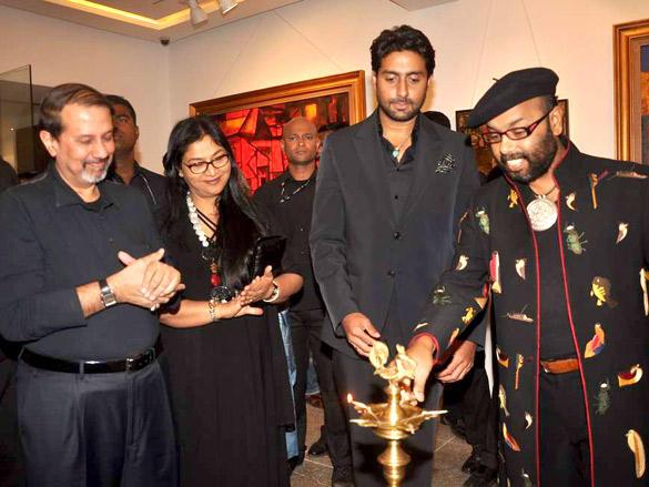 Paresh Maity at His Art Event