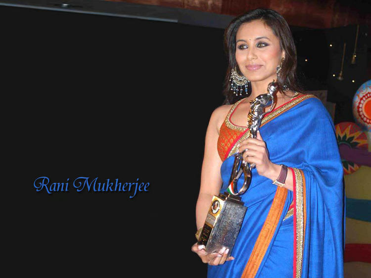 Rani Mukherjee Gorgeous Saree Pic