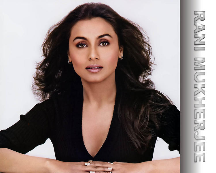 Rani Mukherjee Sexiest face Wallpaper