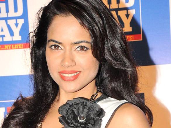 Sameera Reddy Sweet Smile at Launch of Mid-Day Mumbai Anthem
