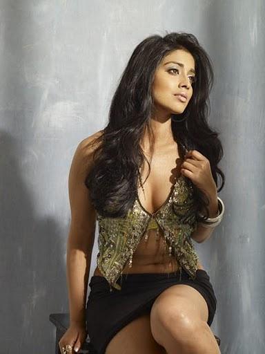 Shriya Saran Hot Photo With Romantic Look
