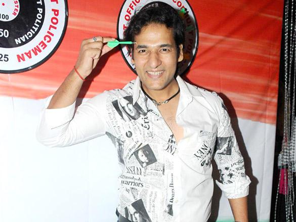 Umesh Pherwani at Viren Shah's Happy Slappy party