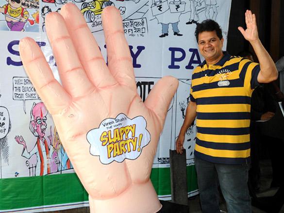 Viren Shah Happy Slappy party images