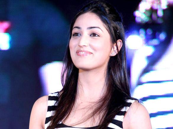 Yami Gautam Beauty Still at Vicky Donor Promotional Event