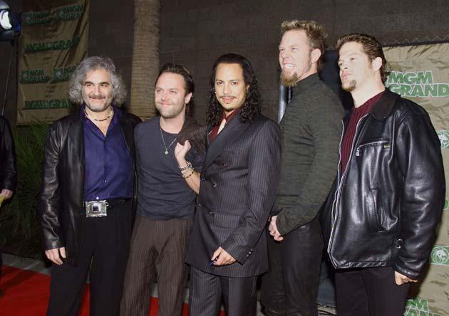 Metallica Band Members