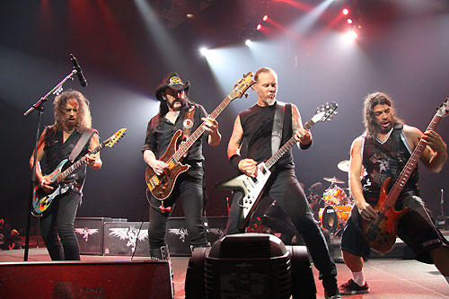 Metallica Band From Los Angeles