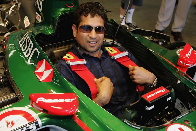 Sachin Formula 1