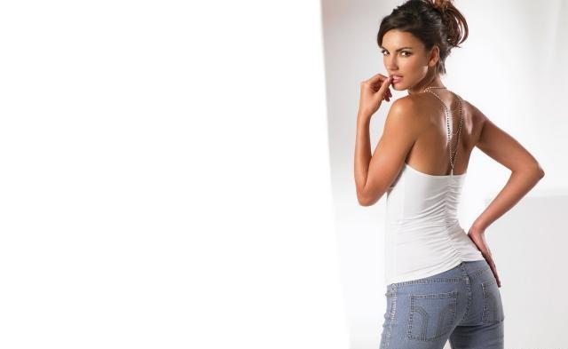 White Top With Jeans