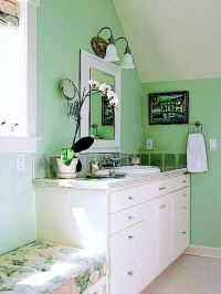 Decor To Adore: Mint Green ~ Its Not Just For Ice Cream