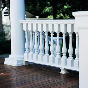 Detail Porch Railing