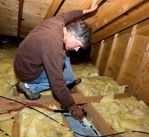 Insulating Attic Floors