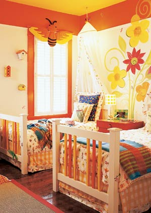 A Bug Inspired Room for Kids