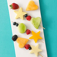 Fruit and Cheese Kabobs
