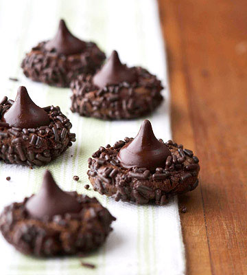 Super Duper Chocolate Kisses Cookies Midwest Living