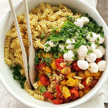 Roasted Tomato Pasta with Mozzarella  Midwest Living