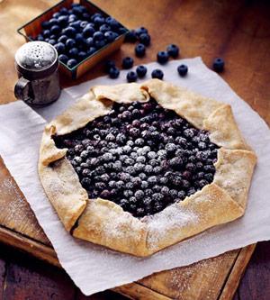 Finnish Blueberry Pie Mustikkapiirakka Midwest Living