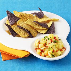 Rainbow Chips & Dip