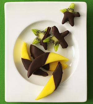 Starry Chocolate Fruit