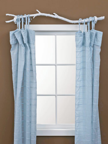 7 Creative Curtain Rods You Can Make DIY Ways To Personalize Your