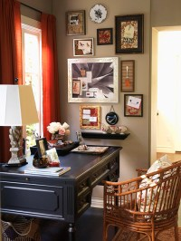 Recipe for a Vintage Home Office: An Organized Home Office ...