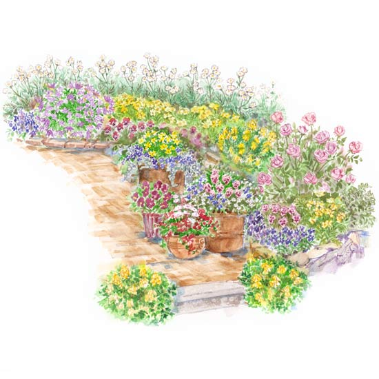 english victorian cottage garden