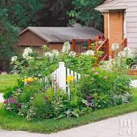 Tiny Corner Garden Plan