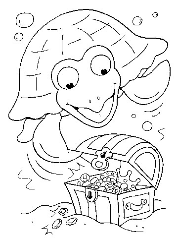 Free Coloring Pages: Pirates