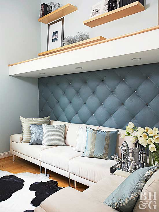 Do It Yourself Upholstered Wall