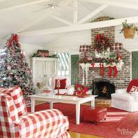 Christmas Decorating: Decor for a Country Home