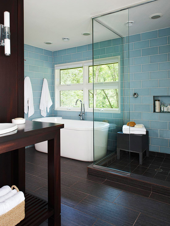Ways To Use Tile In Your Bathroom Better Homes And Gardens BHG Com