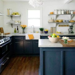 Inexpensive Kitchen Cabinet Makeovers Counter Designs Cape Cod Cottage Makeover - Better Homes And ...