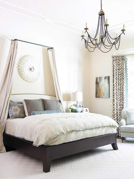 Chandeliers for Bedrooms  Better Homes and Gardens  BHGcom