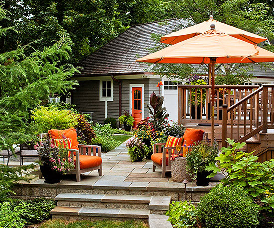 Deck Decor Ideas  Better Homes and Gardens  BHGcom
