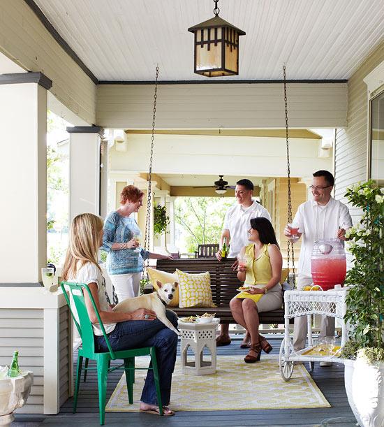 Porch Party Casual Outdoor Entertaining Ideas